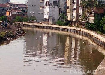 Sebagian besar sungai di Indonesia tercemar berat. FOTO: DARILAUT.ID