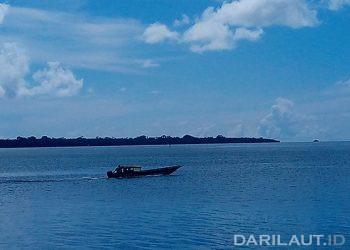 Perairan Tual, Maluku Tenggara. FOTO: DARILAUT.ID