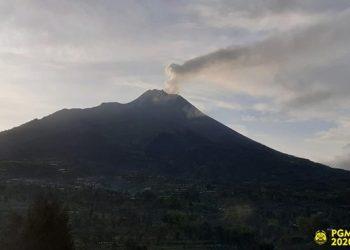 Pantauan Gunung Merapi. FOTO:  BPPTKG/BNPB