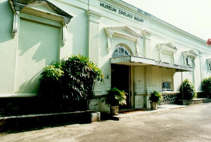 Museum Zoologi Bogor di masa lalu. FOTO: KOLEKSI LIPI.GO.ID