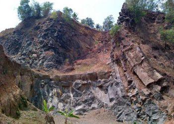 Karangsambung di Kebumen, Jawa Tengah. FOTO: LIPI.GO.ID