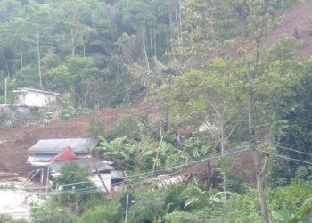 Longsor di Kabupaten Garut, Kamis (3/12).  FOTO: BPBD Kabupaten Garut/BNPB