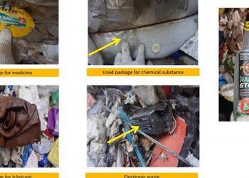 Limbah Bahan Berbahaya Beracun (B3). FOTO: KEMLU