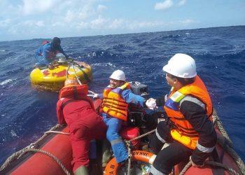 Survei kelautan Kapal Riset Baruna Jaya IV selama 182 hari pelayaran di berbagai wilayah perairan Indonesia. FOTO: BPPT