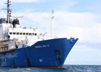 Kapal Riset Baruna Jaya IV. FOTO: BPPT