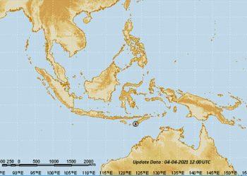 Bibit siklon tropis 99S (TCWC Jakarta – BMKG)