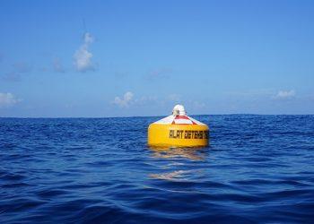Buoy untuk mendeteksi peringatan gempa dan mengirimkan sinyal ke Pusat Observasi Tsunami (InaTOC) BPPT. FOTO: BPPT