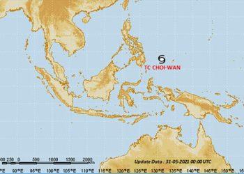 Siklon Tropis Choi-Wan. TCWC Jakarta-BMKG