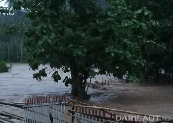 Ilustrasi banjir. FOTO: DARILAUT.ID
