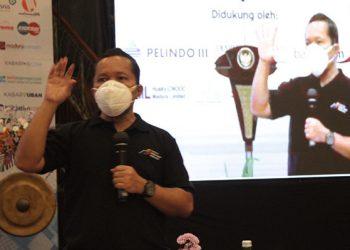 Ketua Umum Asosiasi Media Siber Indonesia (AMSI) Wenseslaus Manggut. FOTO: AMSI JATIM
