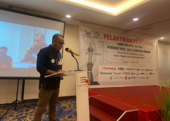 Ketua Asosiasi Media Siber Indonesia (AMSI) Sulawesi Tenggara M Djufri Rachim. FOTO: AMSI