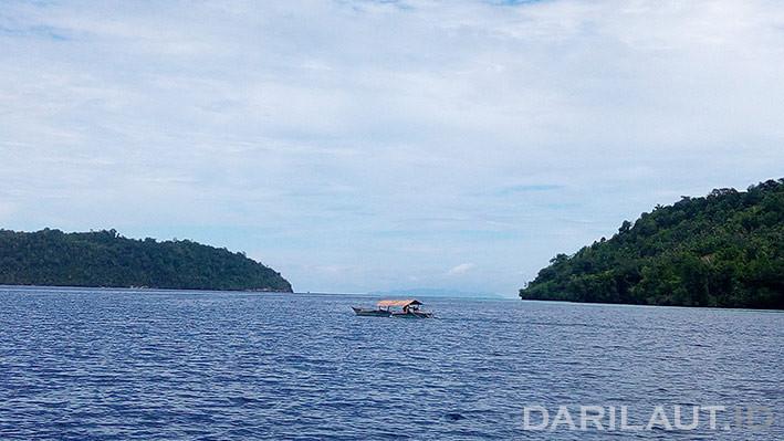 Perairan Pulau Malenge, Kepulauan Togean, Teluk Tomini. FOTO: DARILAUT.ID