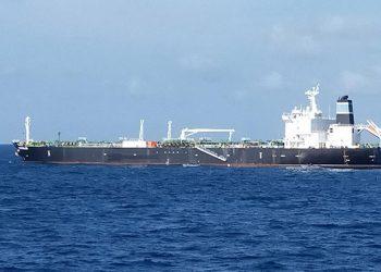 Kapal Tanker MT Strovolos. FOTO: TNIAL.MIL.ID
