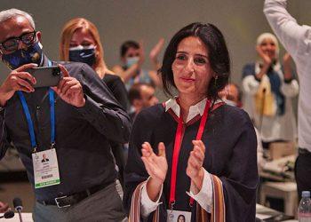 Presiden baru International Union for Conservation of Nature (IUCN) Razan Al Mubarak. FOTO: IUCN