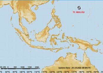 Siklon Tropis Malou. TCWC Jakarta-BMKG
